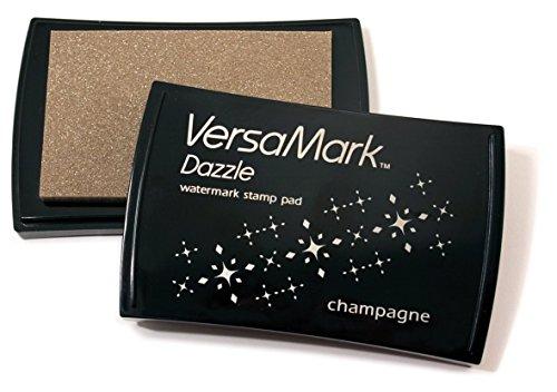 Champagne VersaMark Dazzle Watermark Stamp Pad VM000-3 -