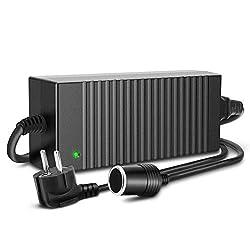 RoyPow 78W Kfz Wechselrichter Spannungswandler Adapter AC zu DC Stromwandler