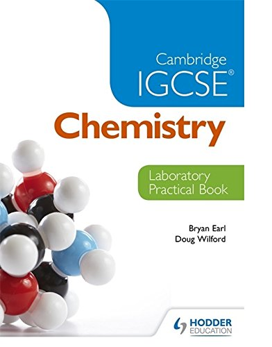 Cambridge IGCSE Chemistry Laboratory Practical Book