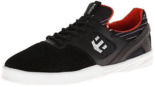 Etnies HIGHLIGHT, Scarpe da skateboard Uomo Nero (Schwarz (538/BLACK/WHITE/ORANGE)