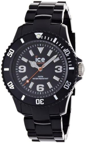 Ice-Watch – ICE solid Black – Men's (Unisex) wristwatch with plaastic strap – 000622 (Medium)