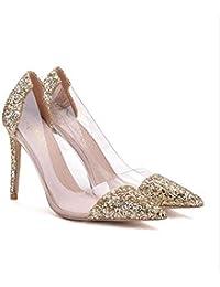 es Amazon Champagne Y Zapatos Zapatos Complementos Color 0B0fwq