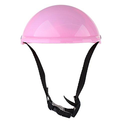Sharplace Miniatur Fahrradhelm Schutzhelm aus Kunststoff Für 18 Zoll Mädchen Puppen Zubehör - Pink