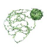 YXJD Künstliche Pflanze Girlande 40m Blätter Girlande Kunstpflanze Deko grüne Rebe Pflanz für Hochzeit Party Zeremonie DIY Handwerk Home Dekoration