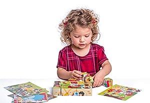 Woodyland 4 x 5 Cuentos de Hadas Imagen Cubos Puzzle (20 Piezas)