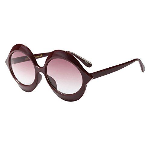 Oyedens Cat Eye Sonnenbrillen Sonnenbrillen - Frauen Männer Vintage Retro Brille Unisex Mode Sonnenbrillen Eyewear