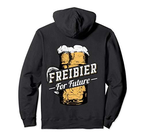 Bier Party Urlaub Oktoberfest Bierpong Freibier For Future Pullover Hoodie
