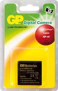 GP Batterie de type Casio NP-40 pour Appareil Photo Numérique Casio