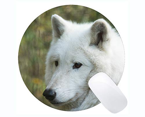 Round Gaming Mouse pad,Wildlife predator defocused for sale  Delivered anywhere in UK