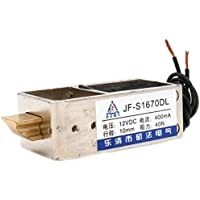 Hechen solenoide electroimán JF-S1670DL DC 12 V 2 A 40 N 10 mm cierre de puerta tipo empuje