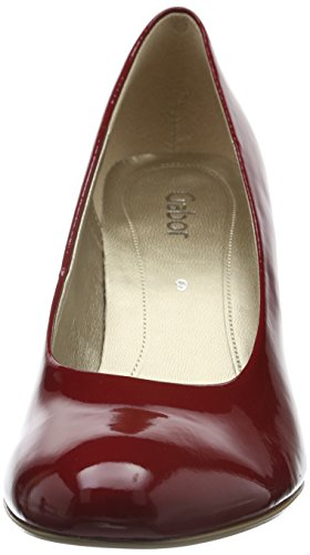 Gabor 45.21 Damen Pumps Rot (75 cherry (+Absatz))