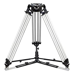 """Proaim Heavy-Duty Mitchell Tripod Stand extends from 2.9ft/35"""" to 5.5ft/66"""" with Spreader (P-MTCL-STD) Payload 500KG for Video Movie Film Shoot Camera Slider"""