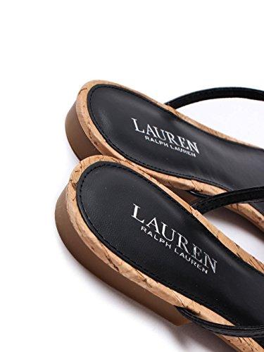 Lauren By Ralph Lauren Anita Donna Sandalo Nero Schwarz