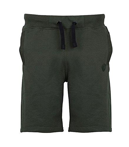 Fox Green Black Jogger Short - Angelhose, Angelshorts, Shorts für Angler, Kurze Hose zum Angeln, Anglerhose, Anglershorts, Größe:XXL