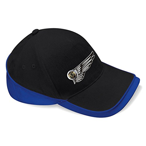 mmshop18 Dodge - Auto Flügel Baseball Cap Mütze -c088 (sw-blau)