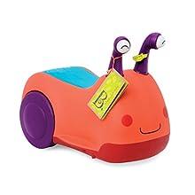 B. toys – Buggly-Wuggly porteur avec lumières et sons – Trotteur avec rangement – pour enfants et bebes de 12 mois et plus