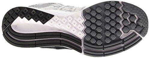 Nike Air Zoom Elite 8, gymnastique homme Negro / Blanco / Gris (Black/White-Wolf Grey-Drk Grey)