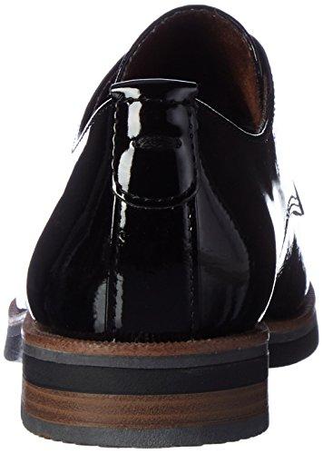 Marco Tozzi 23202, Scarpe Oxford Donna Nero (Black Patent)
