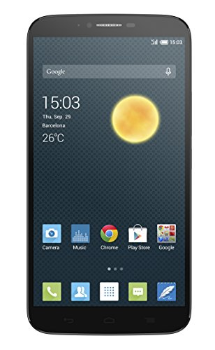 "Foto Alcatel One Touch Hero 2 Smartphone, LTE, Display 6"", Processore Octa Core da 2.0 Ghz, 16 GB, Grigio Scuro [Italia]"