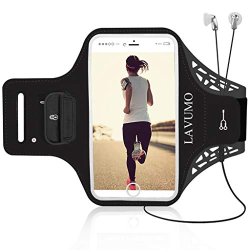 Sportarmband Handytasche Sport für iPhone X 6 Plus 7 Plus 8 Plus XS MAX XR Handyhülle Running Armband für Samsung Galaxy S8 S9 S6 S7 edge S5 S9 Plus Huawei LG g6 Handy Joggen Laufen Gym Armtasche (6-arm-band Iphone)