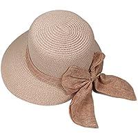 Leisial Gorro de Paja Playa Sombreros para el Sol de Pesca Plegable  Sombreros de Ocio al bf1c8bff6414