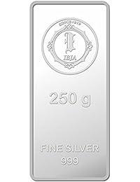 IBJA Gold Investment 250 gm Silver Coin Frames for Women (IG250GMS999INVBR056)