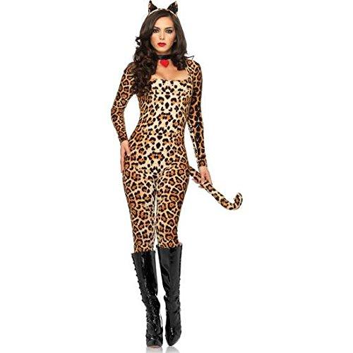 Frauentracht LEG AVENUE LEOPARD (Leg Avenue Cougar Kostüme)