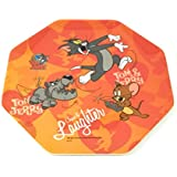 Tom and Jerry 8 Side Polygon Melamine Plate, 10 cm, Multicolour