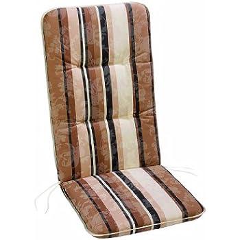 Best 05201017 Coussin haut dossier pour fauteuil Motif 1017 120 x 50 x 6 cm
