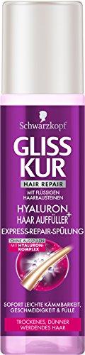 Gliss Kur Express-Repair-Spülung Hyaluron plus Haar Auffüller, 200 ml