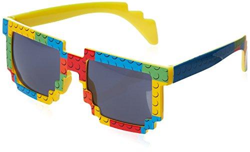 Sonnenbrille im Baustein Look für kleine Building Brick fans - gebaut mit Stil!