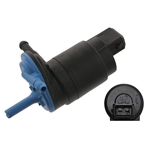 febi bilstein 08028 Waschwasserpumpe / Wischwasserpumpe für Scheibenreinigungsanlage, 12 Volt, 1 Stück