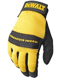 DeWalt DPG20L Synthetic Leather Palm Gloves
