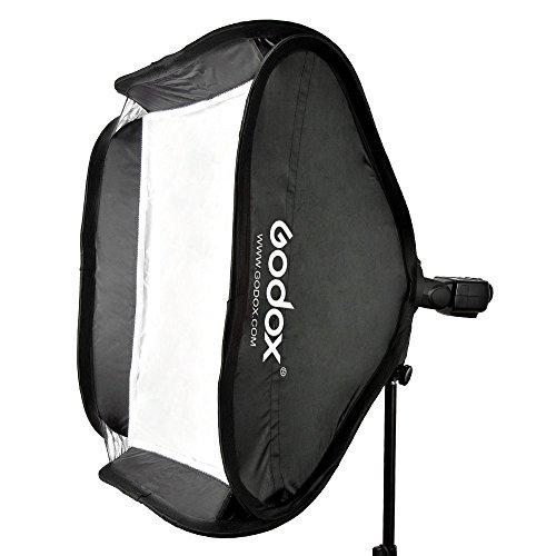 Godox 40 x 40 cm Caja luz difusor soporte