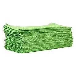 25pezzi set cleanofant Micro Allround panno verde–Panno Microfibra Universale per roulotte, camper, caravan
