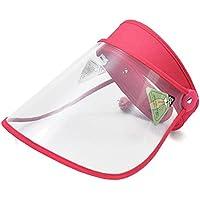 Rinder - Visera protectora de protección completa para la cara, antivaho y antivaho, C