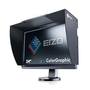 Eizo CG246-BK 61 cm (24 Zoll) Monitor (HDMI, DVI,7ms Reaktionszeit, widescreen, TFT, USB) schwarz