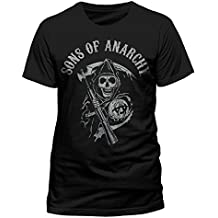 Sons of Anarchy SONS OF ANARCHY - MAIN LOGO - Camiseta Hombre