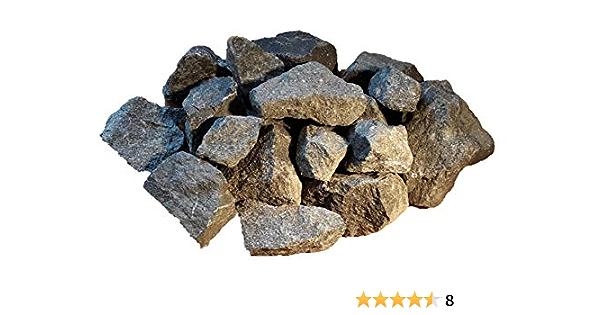 25 kg Pierres de basalte 5-8 cm pour sauna vapeur