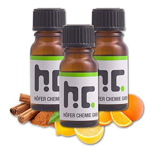 Höfer Chemie Duft Set 6 - mit 4 Düften - Zitrone, Zimt, Orange, Vanille -