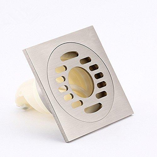 ZAIG High Quality Washing Machine Drain _ Hurricane Ding Health Drawing Surface Copper Chrome Washing Machine Deodorant Pest Defection -