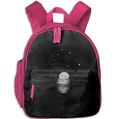 (Shining Moon Toddler Kids Pre School Bag Cute 3D Print Children School Backpack)