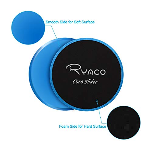 Ryaco-Core-Exercise-Sliders-Dual-Sided-Gliding-Discs-With-Carry-Bag-for-Carpet-or-Hardwood-Floors-Home-Abdominal-Total-Body-Workout-Equipment-Blue