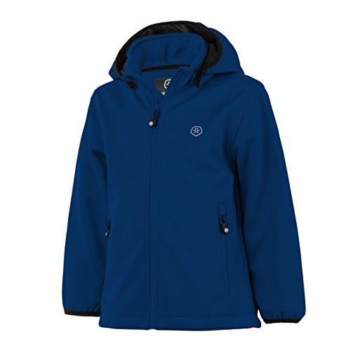 Color Kids. Ralado, Softshell-Jacket Junior Air-Flo 5000, Estate Blue, Gr. 122 -