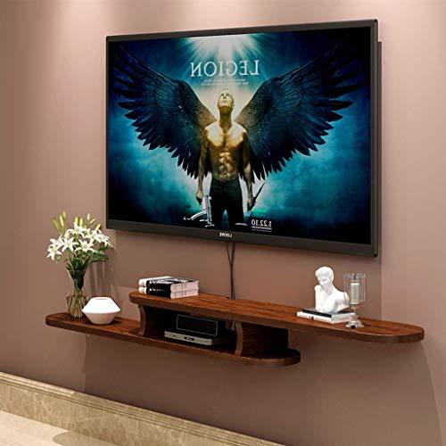 JDH Wandmontierter Tv-Schrank Schwimmendes Regal Schlafzimmer Wohnzimmer Wandregalfräser Set Top Box Ablageboden Tv-Konsole Tv-Ständer 1.2/1.5/1.7M (Farbe: A, Größe: 170 cm), b, 150 cm -