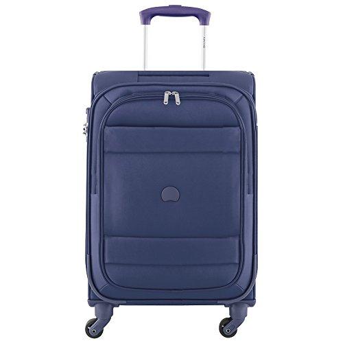 Delsey paris indiscrete valigia, 78 cm, 118 liters, blu (bleu nuit)