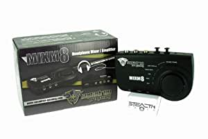MIXM8 - AUDIO MIXER AMPLIFIER FOR HEADSETS ON PS3 AND XBOX 360