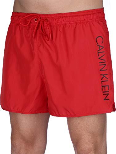 Calvin Klein Underwear Short Runner-Logo Badeshorts Flame Scarlet