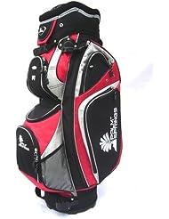 Palm Springs Golf Trolleybag mit 14-fach Unterteilung Rot
