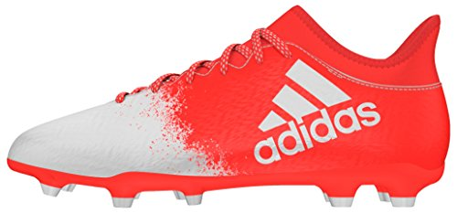 adidas Unisex-Erwachsene X 16.3 FG W Fußballschuhe Rot (Solar Red/ftwr White/solar Red)